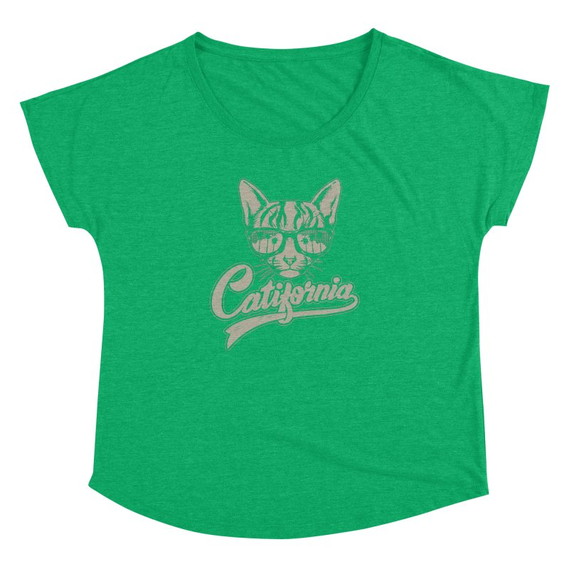 Catifornia Women's Dolman Scoop Neck by ES427's Artist Shop