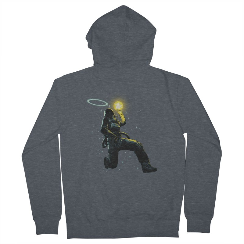 Astro Slam Dunk Women's French Terry Zip-Up Hoody by ES427's Artist Shop