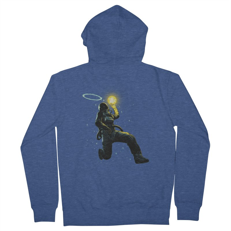 Astro Slam Dunk Men's French Terry Zip-Up Hoody by ES427's Artist Shop