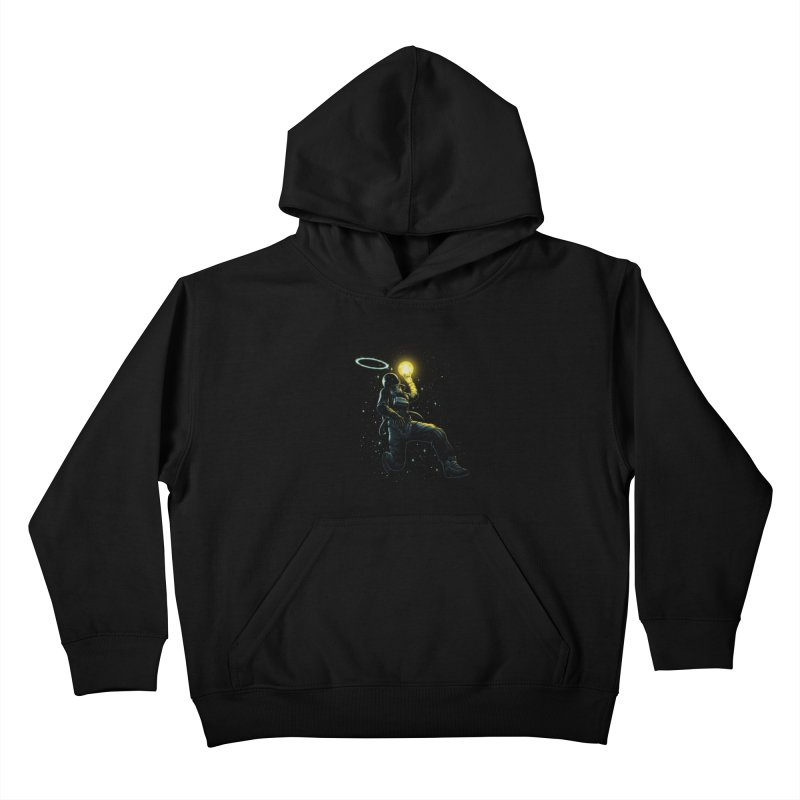 Astro Slam Dunk Kids Pullover Hoody by ES427's Artist Shop