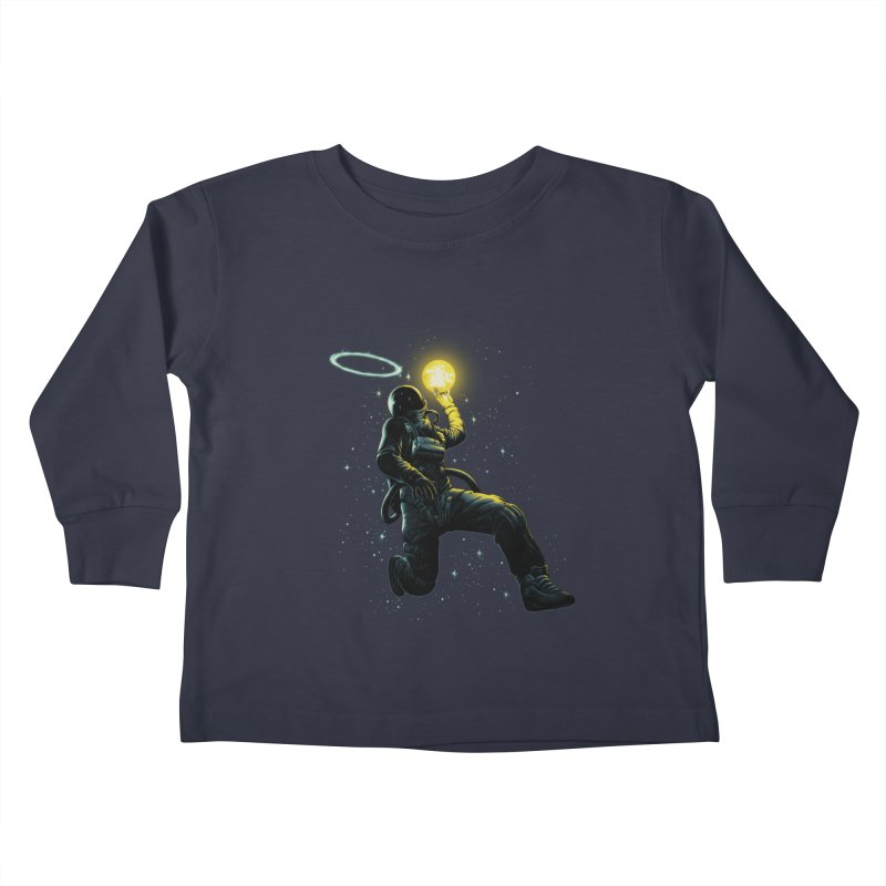 Astro Slam Dunk Kids Toddler Longsleeve T-Shirt by ES427's Artist Shop