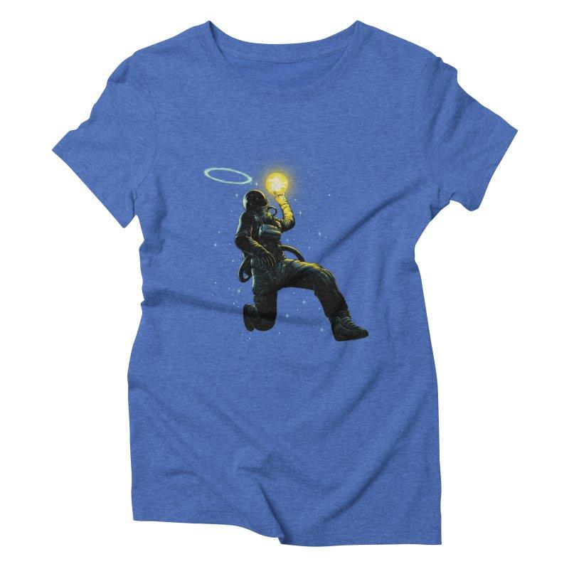 Astro Slam Dunk Women's Triblend T-Shirt by ES427's Artist Shop