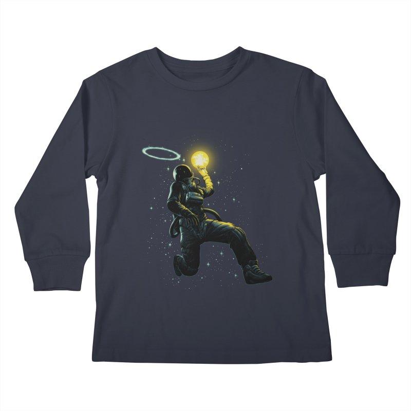 Astro Slam Dunk Kids Longsleeve T-Shirt by ES427's Artist Shop