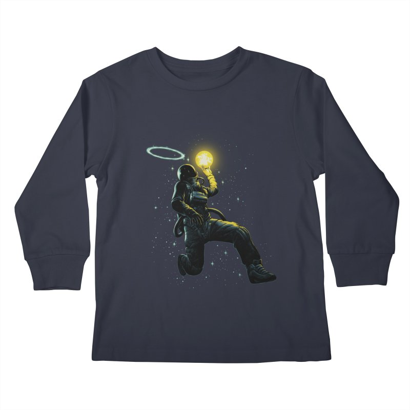 Astro Slam Dunk Kids Longsleeve T-Shirt by ES427's Artist Shop