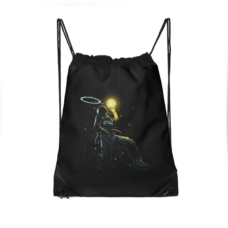 Astro Slam Dunk Accessories Drawstring Bag Bag by ES427's Artist Shop