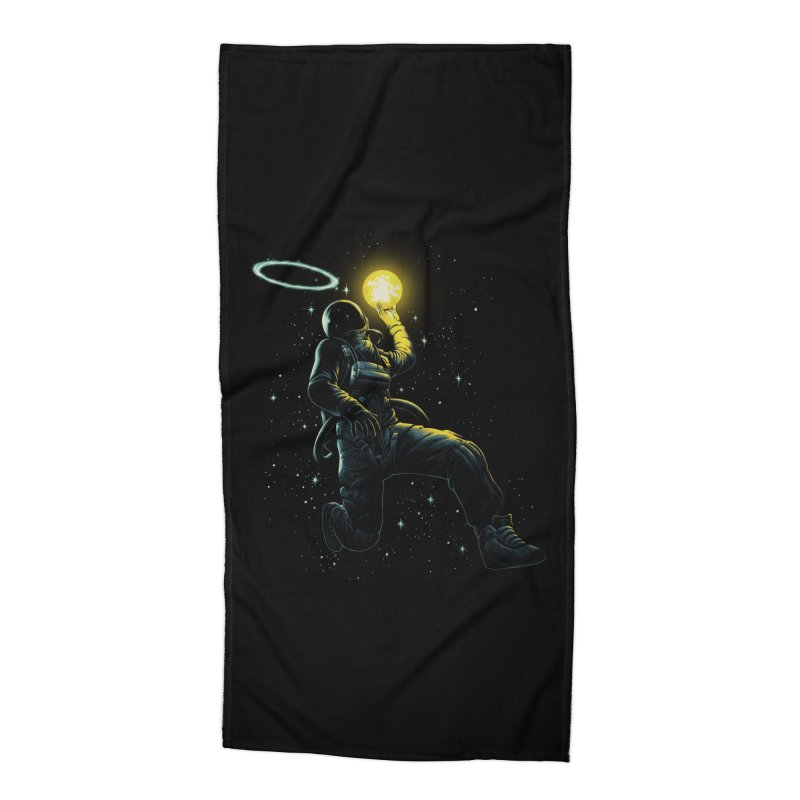 Astro Slam Dunk Accessories Beach Towel by ES427's Artist Shop