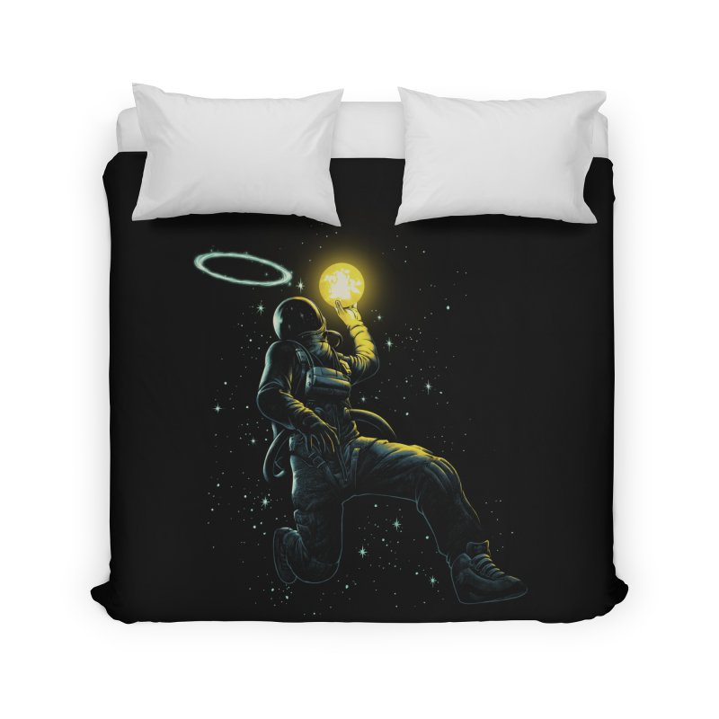 Astro Slam Dunk Home Duvet by ES427's Artist Shop