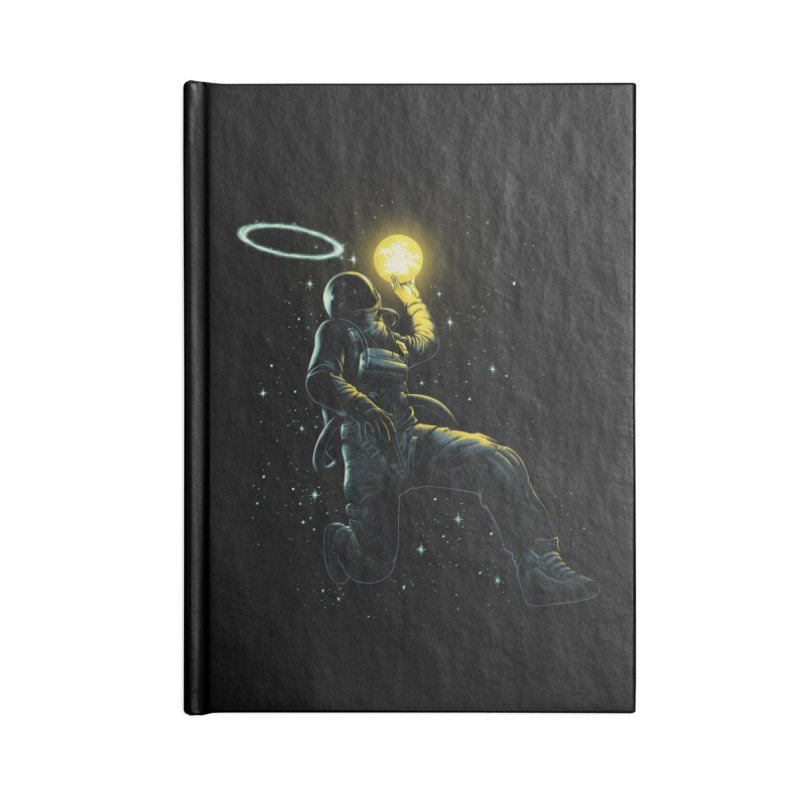Astro Slam Dunk Accessories Blank Journal Notebook by ES427's Artist Shop