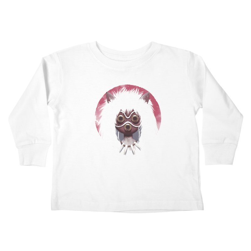 Princess Kids Toddler Longsleeve T-Shirt by ES427's Artist Shop