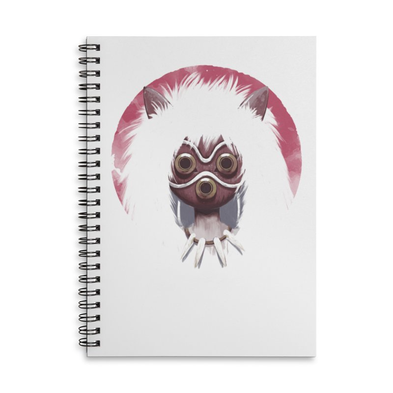 Princess Accessories Lined Spiral Notebook by ES427's Artist Shop