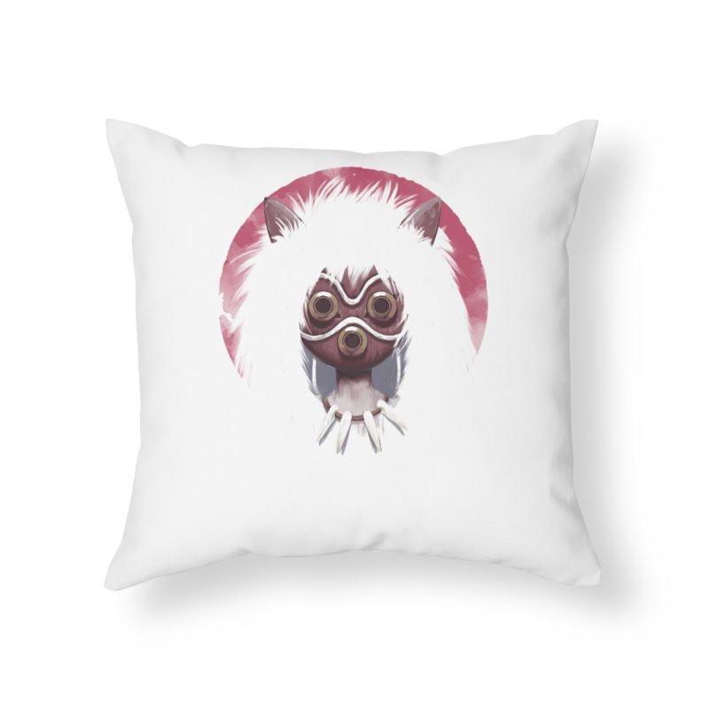 Princess Home Throw Pillow by ES427's Artist Shop