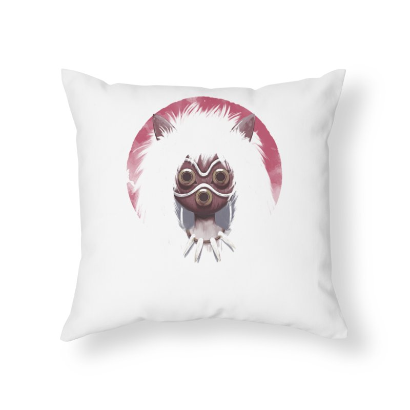 Princess Home Throw Pillow by ES427's Artist Shop