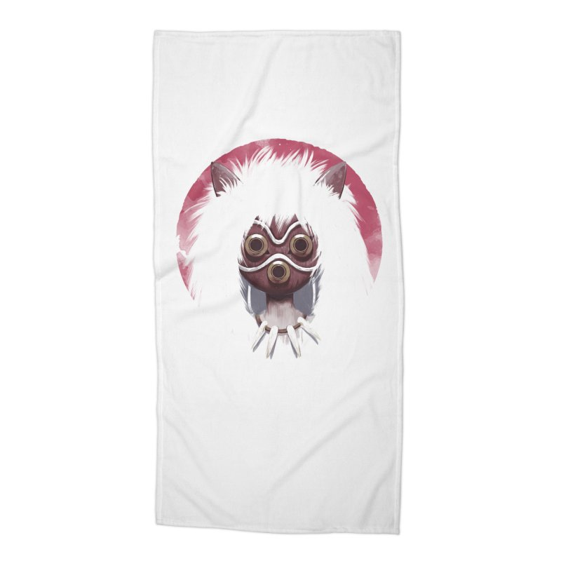 Princess Accessories Beach Towel by ES427's Artist Shop