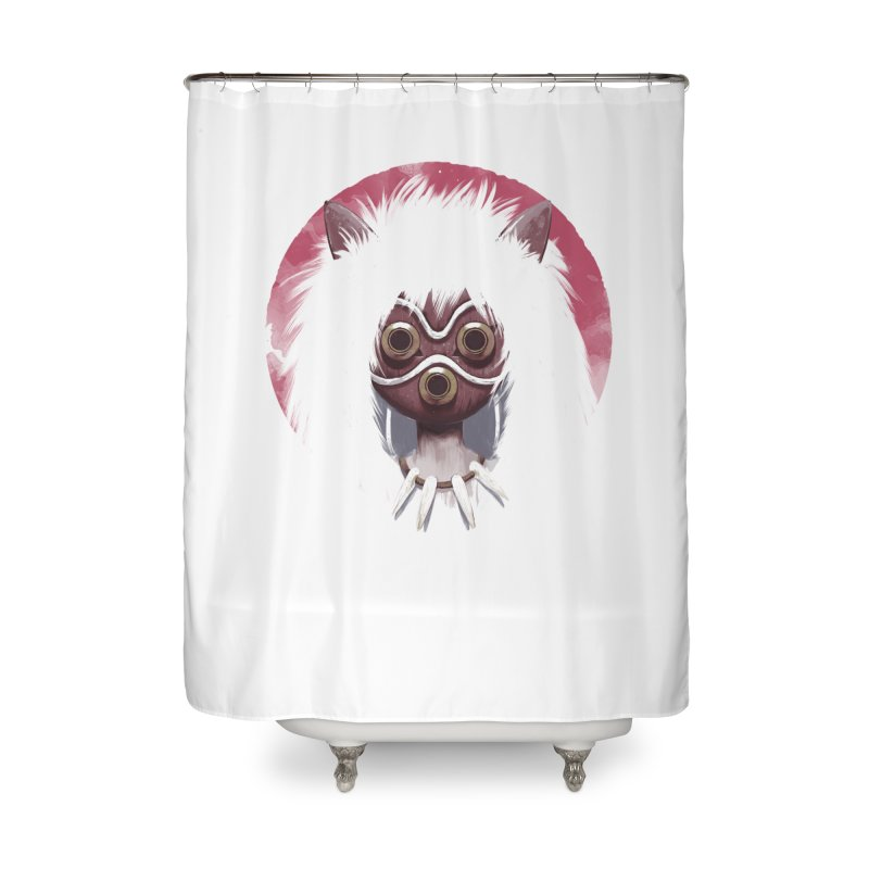 Princess Home Shower Curtain by ES427's Artist Shop