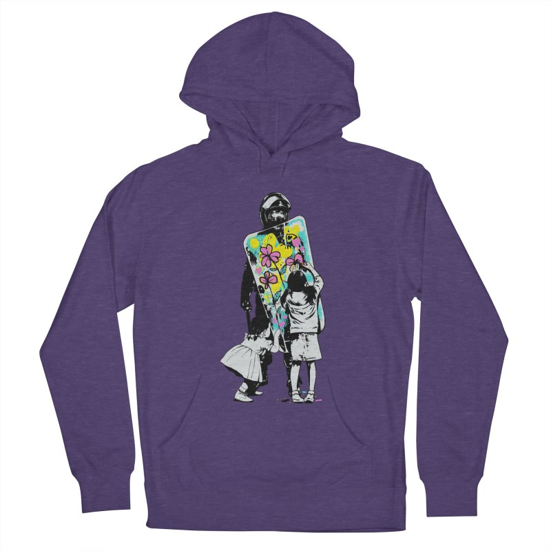 This is not a riot Men's French Terry Pullover Hoody by ES427's Artist Shop