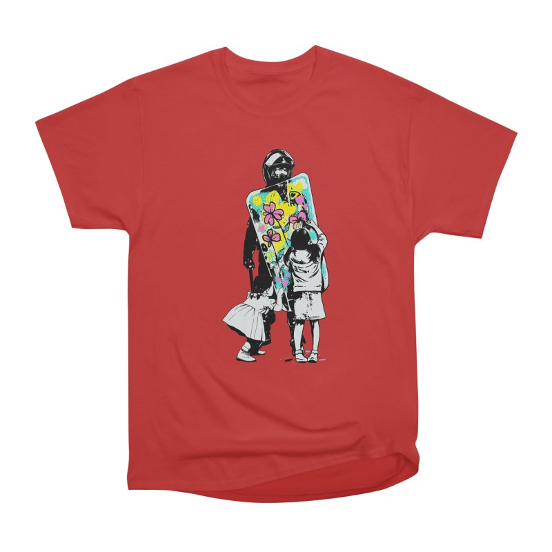 This is not a riot Men's Heavyweight T-Shirt by ES427's Artist Shop