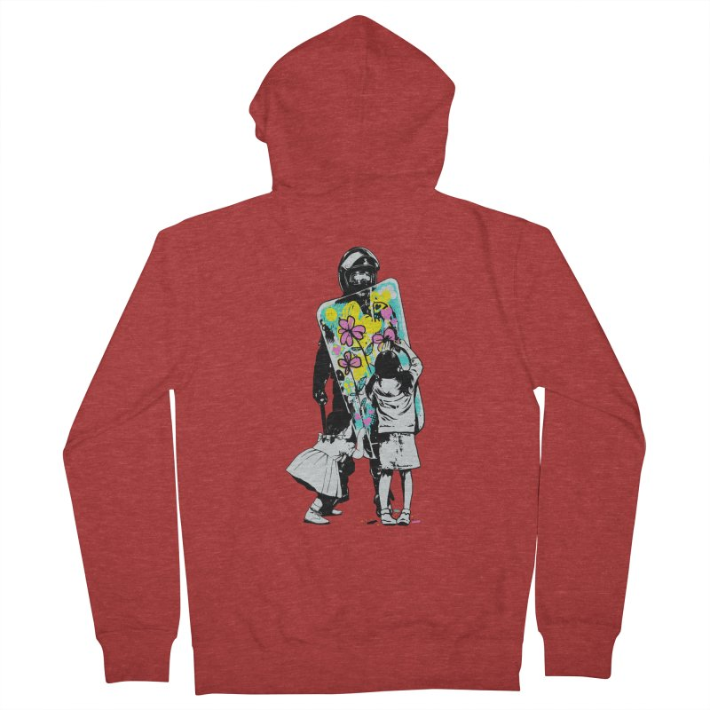 This is not a riot Women's French Terry Zip-Up Hoody by ES427's Artist Shop