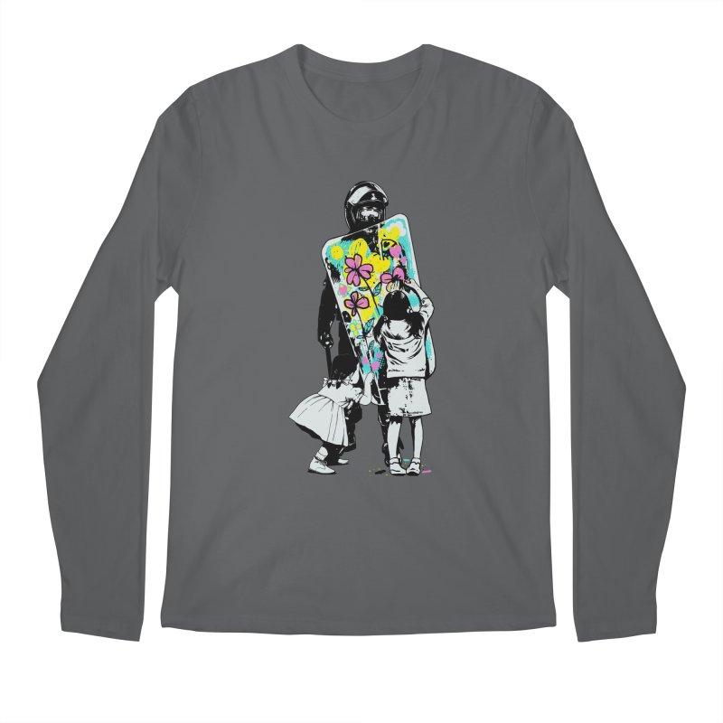 This is not a riot Men's Regular Longsleeve T-Shirt by ES427's Artist Shop
