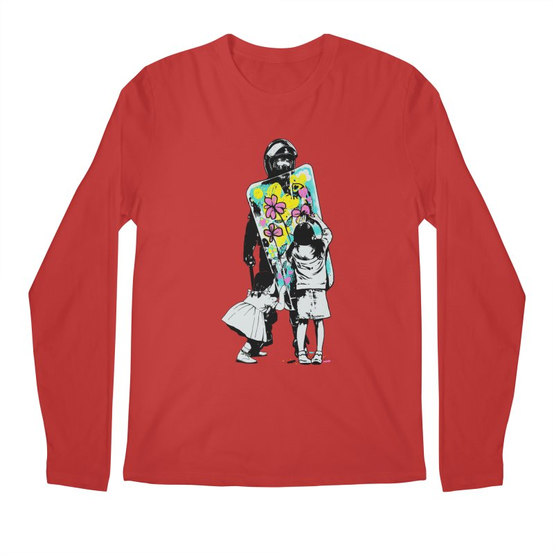 This is not a riot Men's Longsleeve T-Shirt by ES427's Artist Shop