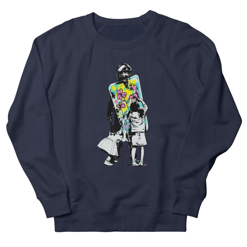 This is not a riot Women's French Terry Sweatshirt by ES427's Artist Shop