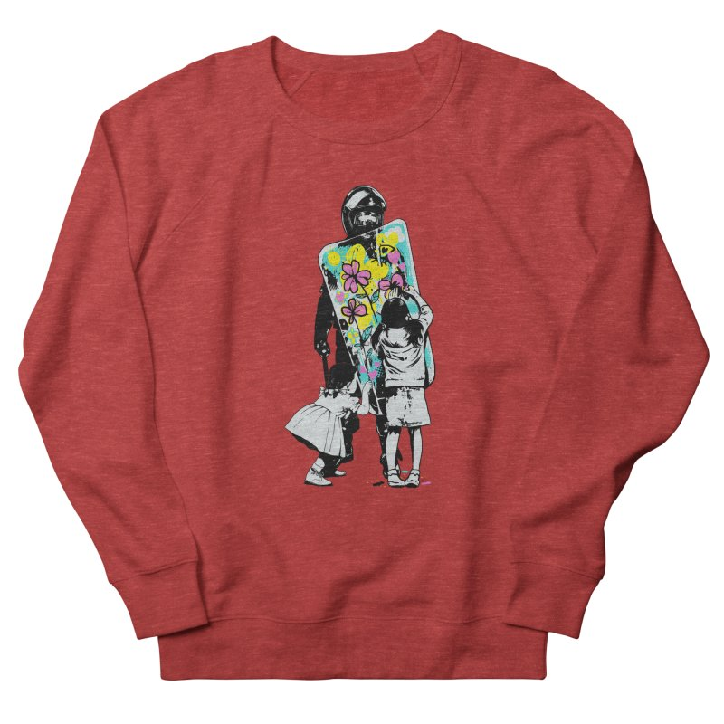 This is not a riot Men's French Terry Sweatshirt by ES427's Artist Shop