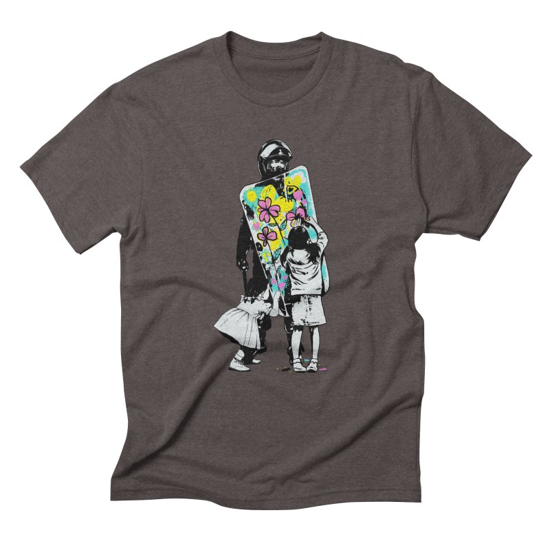 This is not a riot Men's Triblend T-Shirt by ES427's Artist Shop