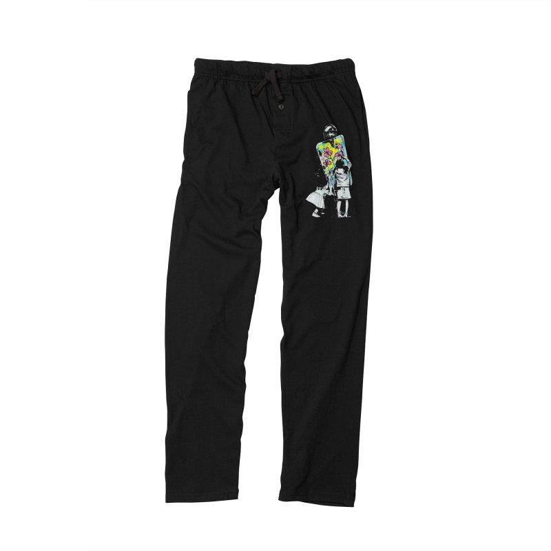 This is not a riot Men's Lounge Pants by ES427's Artist Shop