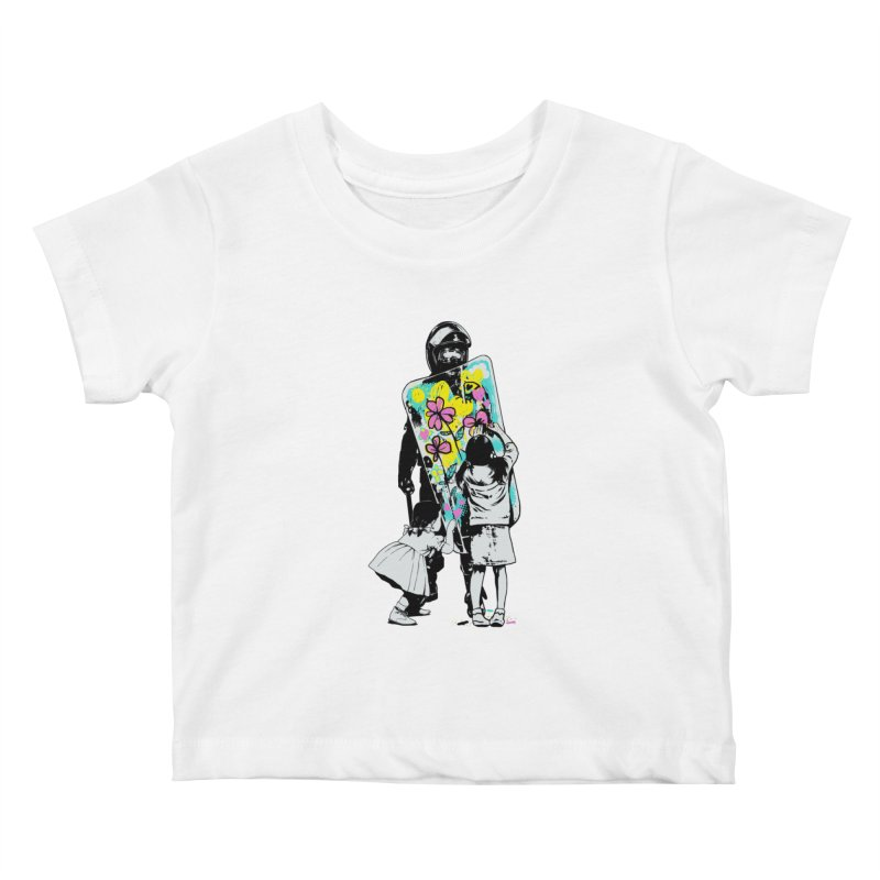 This is not a riot Kids Baby T-Shirt by ES427's Artist Shop