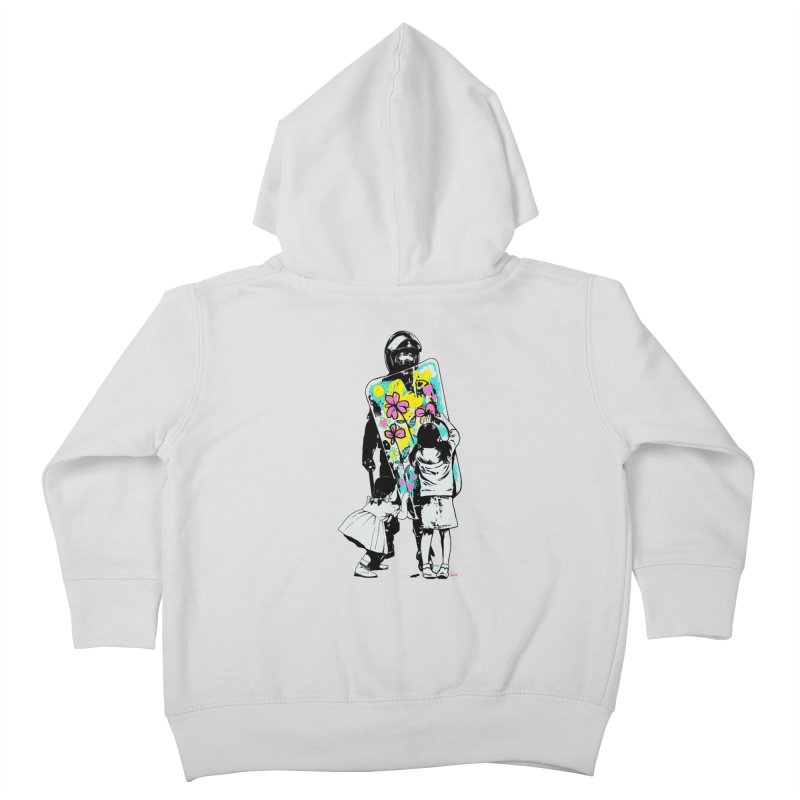 This is not a riot Kids Toddler Zip-Up Hoody by ES427's Artist Shop