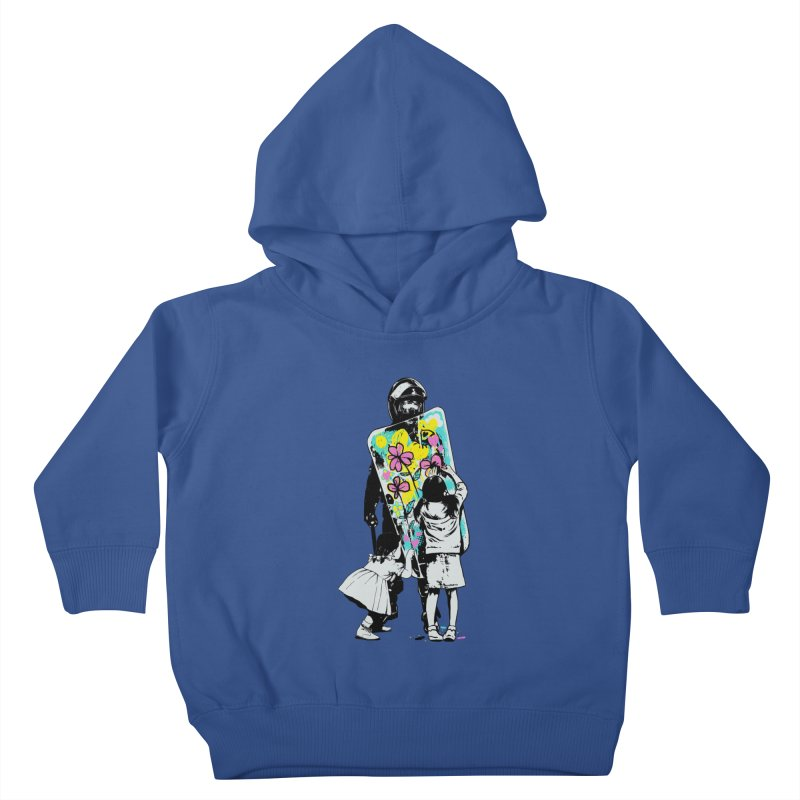 This is not a riot Kids Toddler Pullover Hoody by ES427's Artist Shop