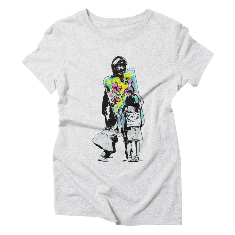 This is not a riot Women's Triblend T-Shirt by ES427's Artist Shop