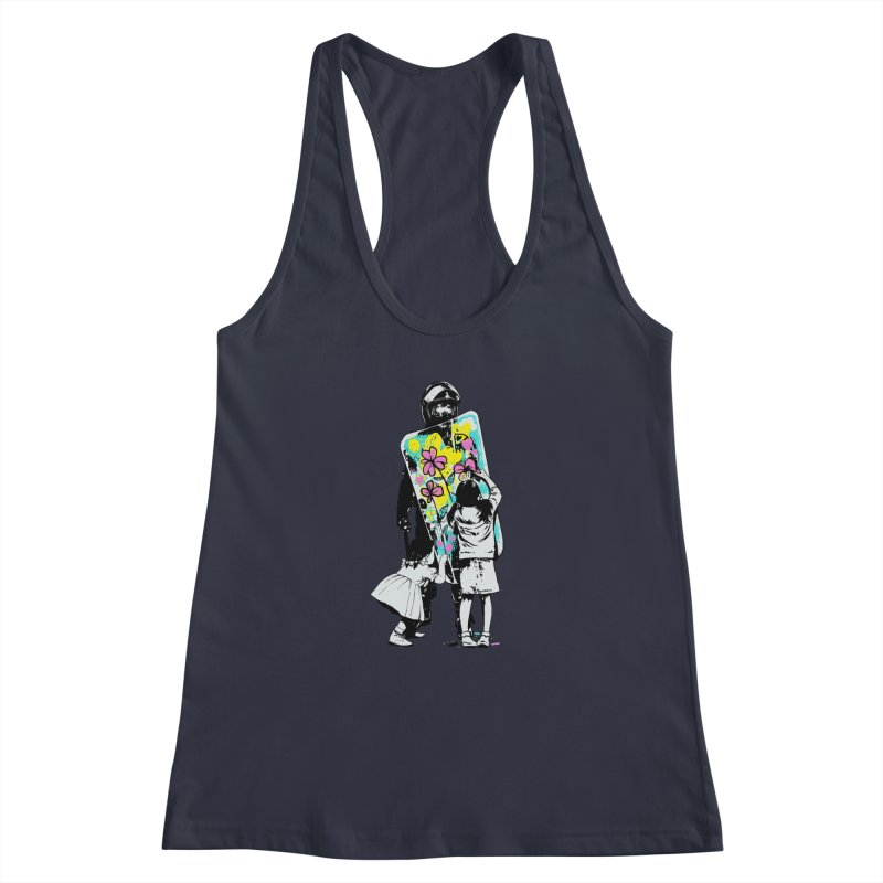 This is not a riot Women's Racerback Tank by ES427's Artist Shop