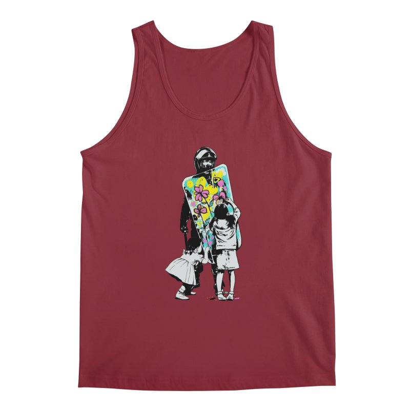 This is not a riot Men's Regular Tank by ES427's Artist Shop