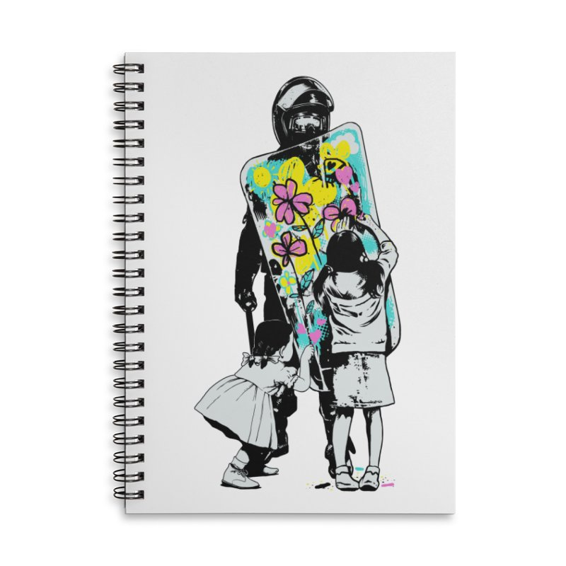 This is not a riot Accessories Lined Spiral Notebook by ES427's Artist Shop