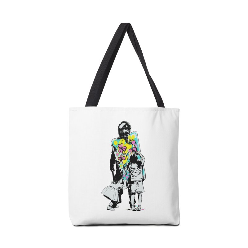 This is not a riot Accessories Bag by ES427's Artist Shop