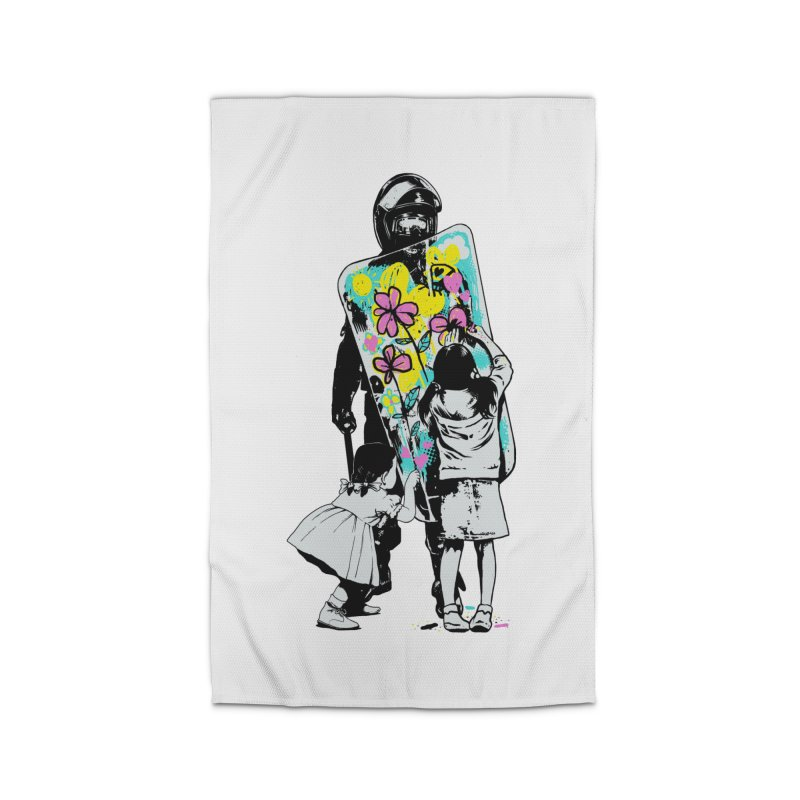 This is not a riot Home Rug by ES427's Artist Shop
