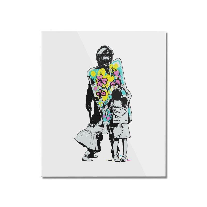 This is not a riot Home Mounted Acrylic Print by ES427's Artist Shop