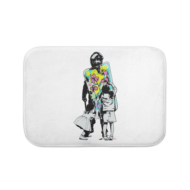 This is not a riot Home Bath Mat by ES427's Artist Shop