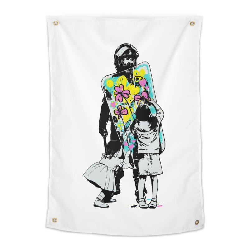 This is not a riot Home Tapestry by ES427's Artist Shop