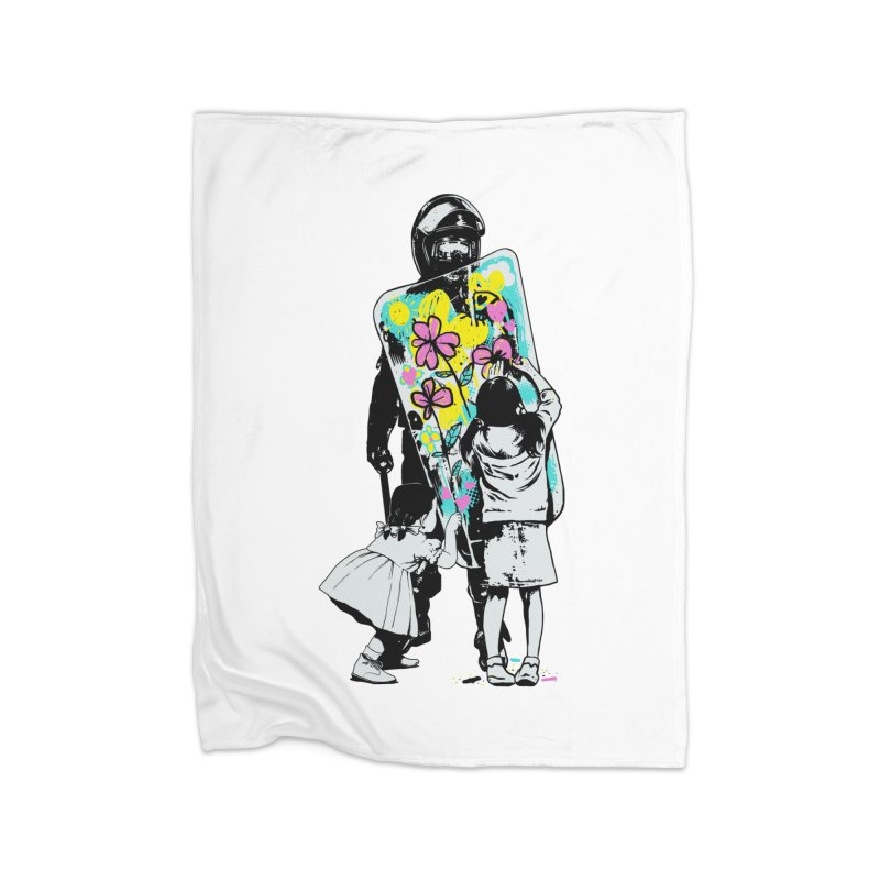 This is not a riot Home Blanket by ES427's Artist Shop