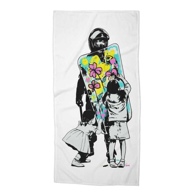 This is not a riot Accessories Beach Towel by ES427's Artist Shop