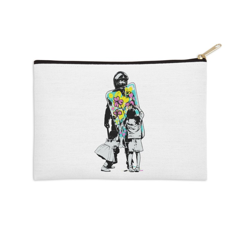 This is not a riot Accessories Zip Pouch by ES427's Artist Shop