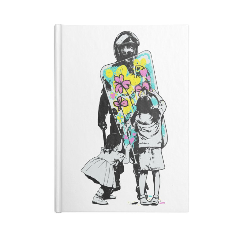 This is not a riot Accessories Lined Journal Notebook by ES427's Artist Shop