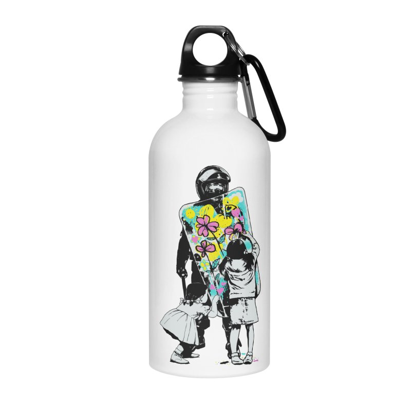 This is not a riot Accessories Water Bottle by ES427's Artist Shop