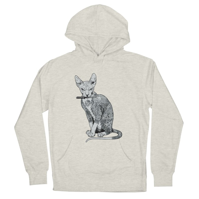 Gangster Men's French Terry Pullover Hoody by ES427's Artist Shop