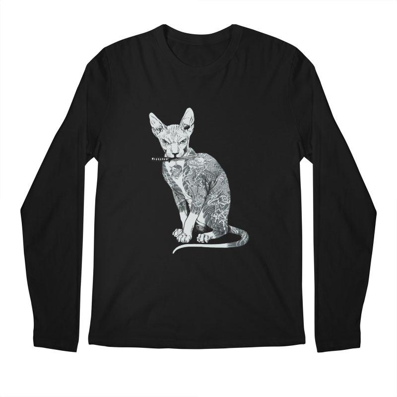 Gangster Men's Regular Longsleeve T-Shirt by ES427's Artist Shop