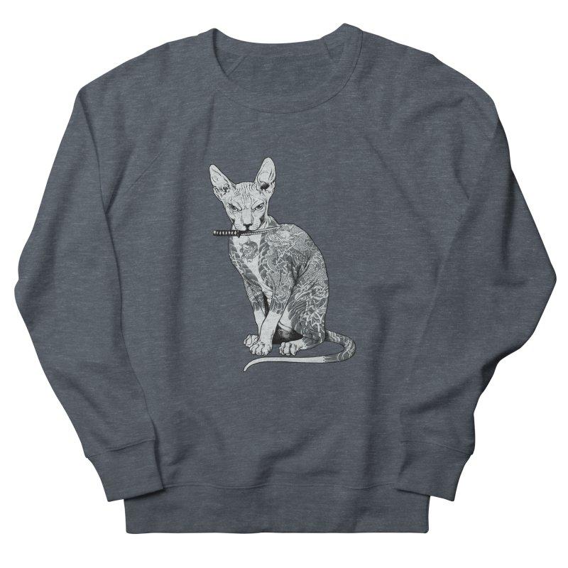 Gangster Men's French Terry Sweatshirt by ES427's Artist Shop