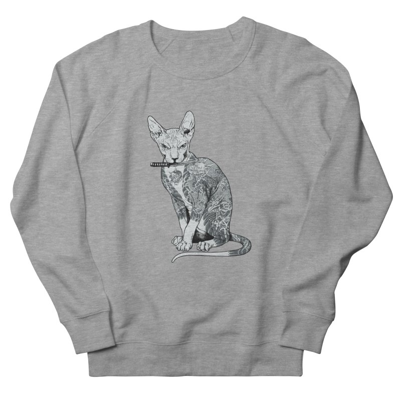 Gangster Men's French Terry Sweatshirt by ES427's Artist Shop
