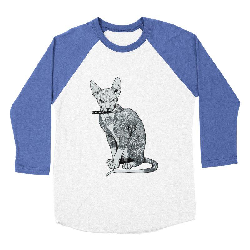 Gangster Women's Baseball Triblend Longsleeve T-Shirt by ES427's Artist Shop