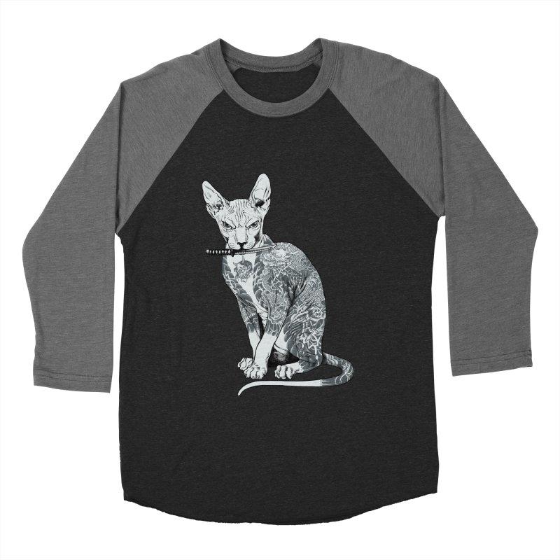 Gangster Men's Baseball Triblend Longsleeve T-Shirt by ES427's Artist Shop